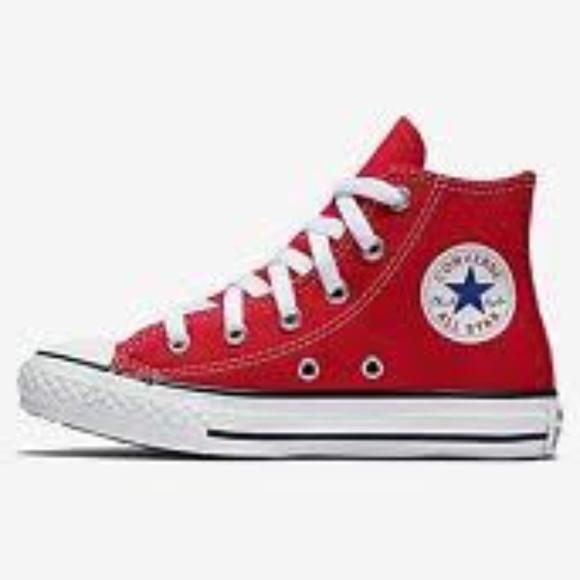 7f07c7fa40 Converse Chuck Taylor All Star Hi Top Red 3J232